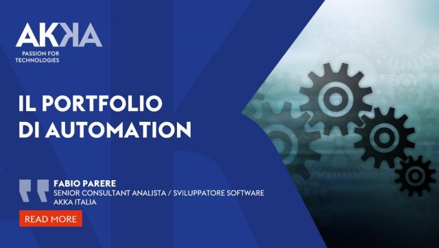 Team Automation AKKA Italy